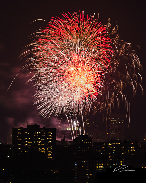 Canada Day Fireworks, Ottawa - Canada