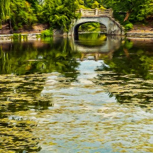 The Pond, Ottawa, Canada. Six filter effects applied selectively.