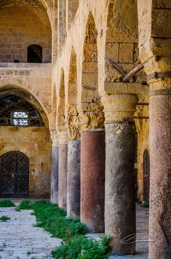 Abandoned Ottoman Castle, Akko (Acre), Israel