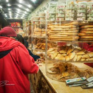Running 24 hours, this place provides all Arab delicacies in Jaffa, Israel.
