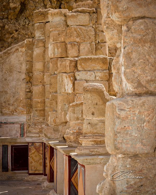 Ruins of Masada, Israel