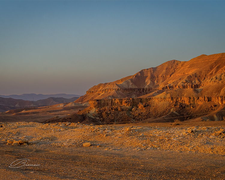 The Desert of Negev, Israel