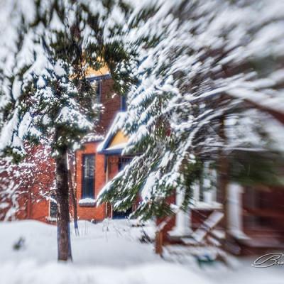 Snow season.