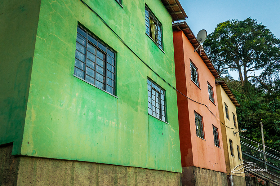 Slum of Dona Marta Hill, Rio de Janeiro, Brazil