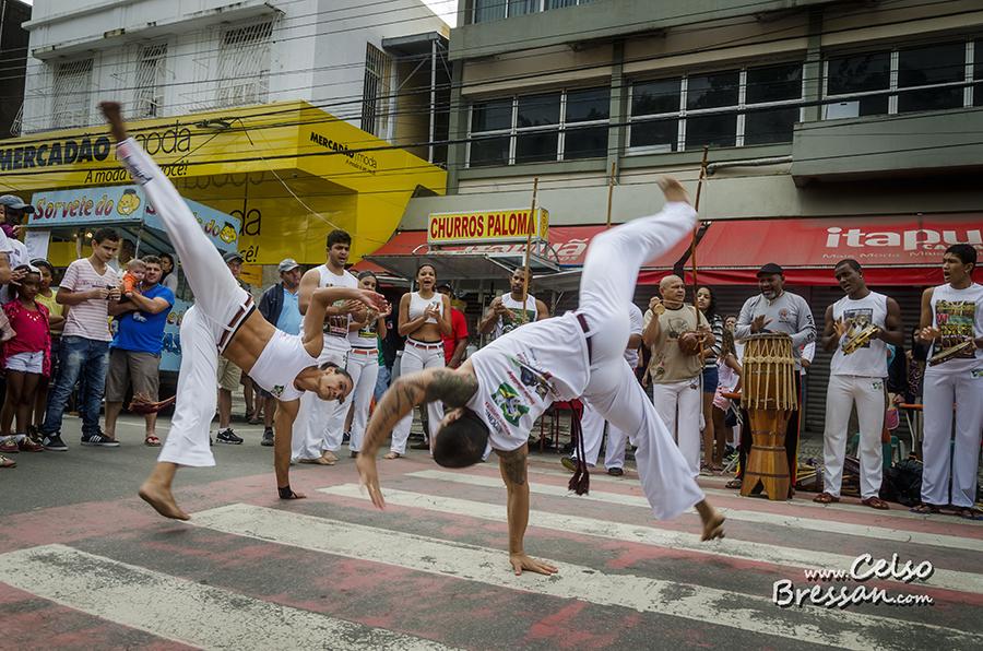 Capoeira, a Dance, Martial Art and Game.