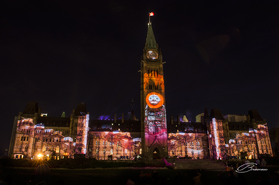 The Lights and Colors of the Parliament's Show