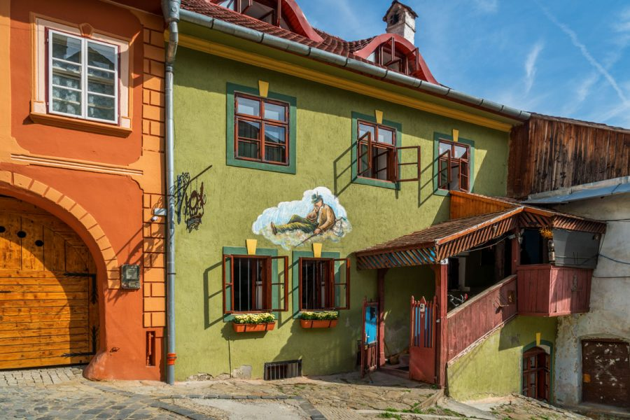 Sighisoara, Romania, A Traditional House